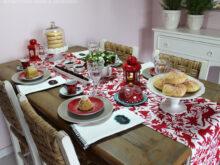 Mesa De Cafe Y7du Cafà Da Manhà De Natal Vermelho E Delicado A Mesa Charme