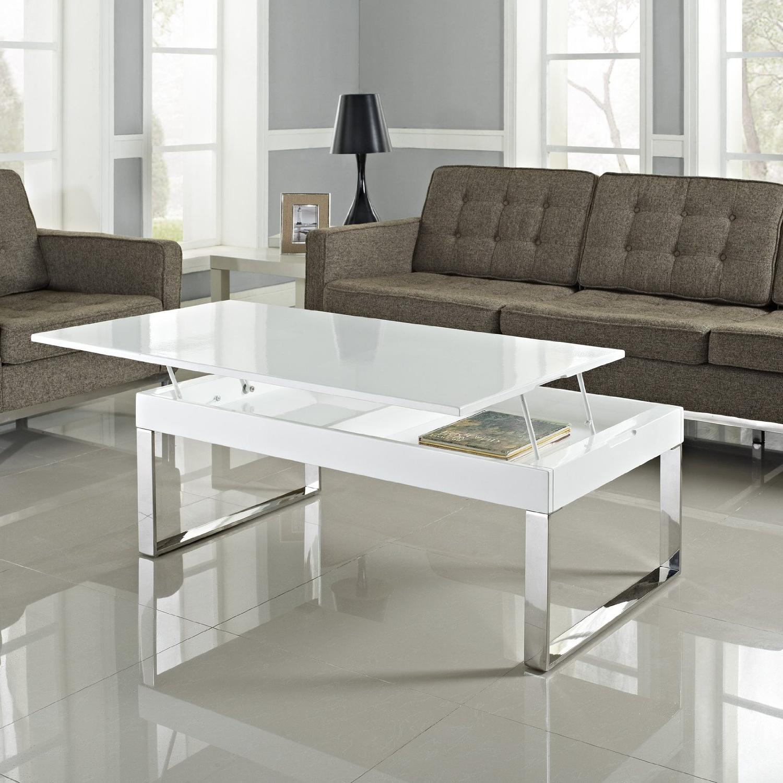 Mesa De Centro Cristal Elevable Tldn Muebles Epa Murcia