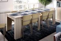 Mesa De Comedor Barata Etdg Mesa Consola Extensible Moderna Y Barata De 51 Cm A 239 Cm En Color Natural