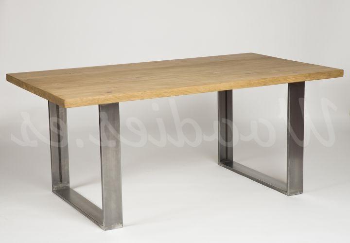 Mesa De Comedor Industrial Zwd9 Mesa De Edor Industrial Muebles Rústicos A Medida