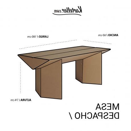 Mesa De Despacho 3id6 Mesa Despacho Kartelier Muebles De Cartà N