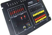 Mesa De Luces 4pde Mesa De Control De Luces De 16 Canales 2kw Accesorios De