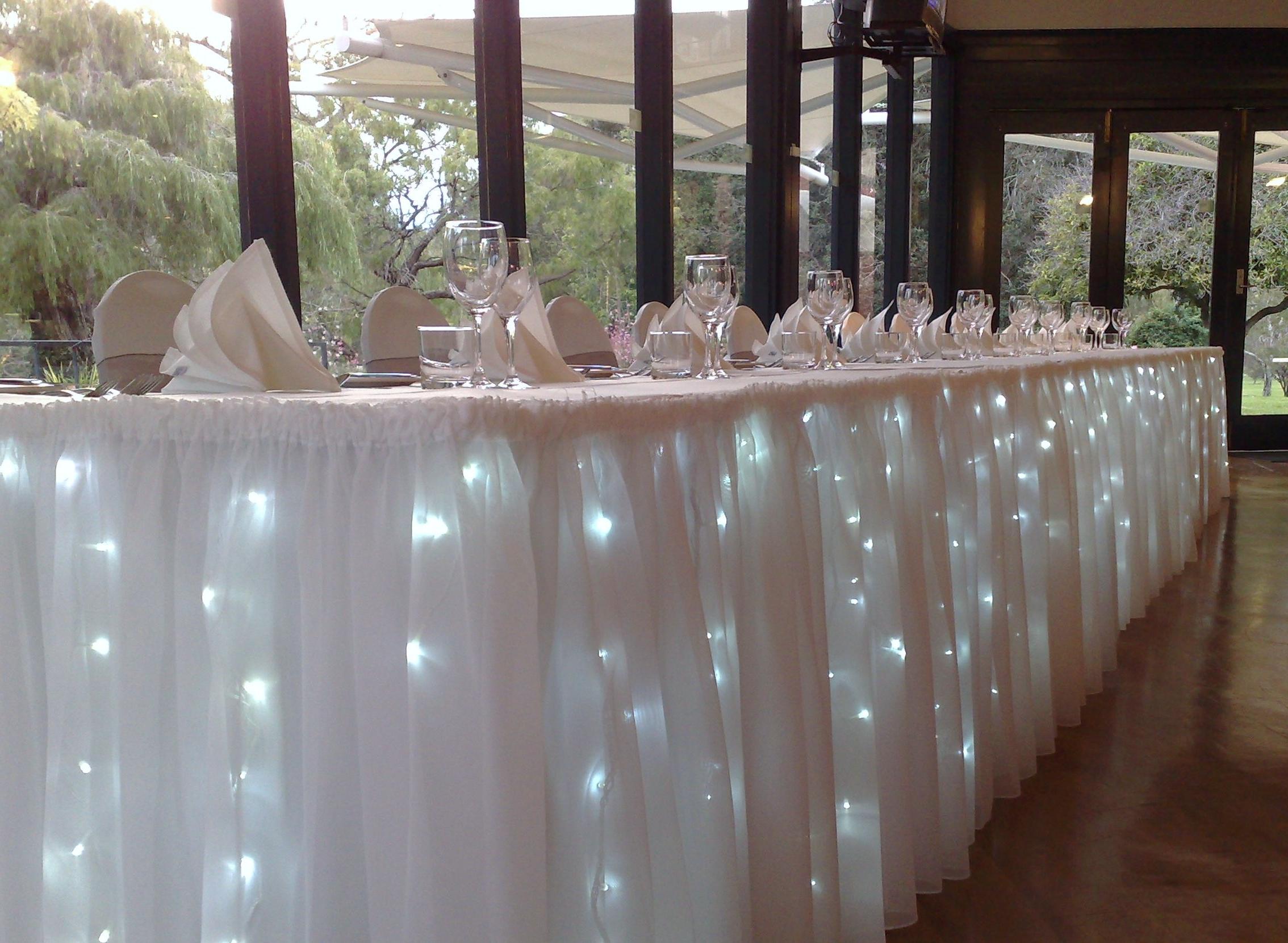 Mesa De Luces 8ydm Mesa Adornada Con Luces Ideal Para Cualquier Tipo De evento