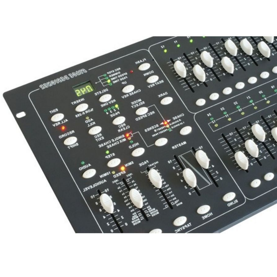 Mesa De Luces Tldn Beamz 154 062 Mesa Panel Control De Luces Dmx 24 Canales