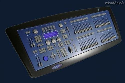 Mesa De Luces X8d1 Lt Hydra Sky 48 Mesa De Control Iluminacion Dmx 48 Maste