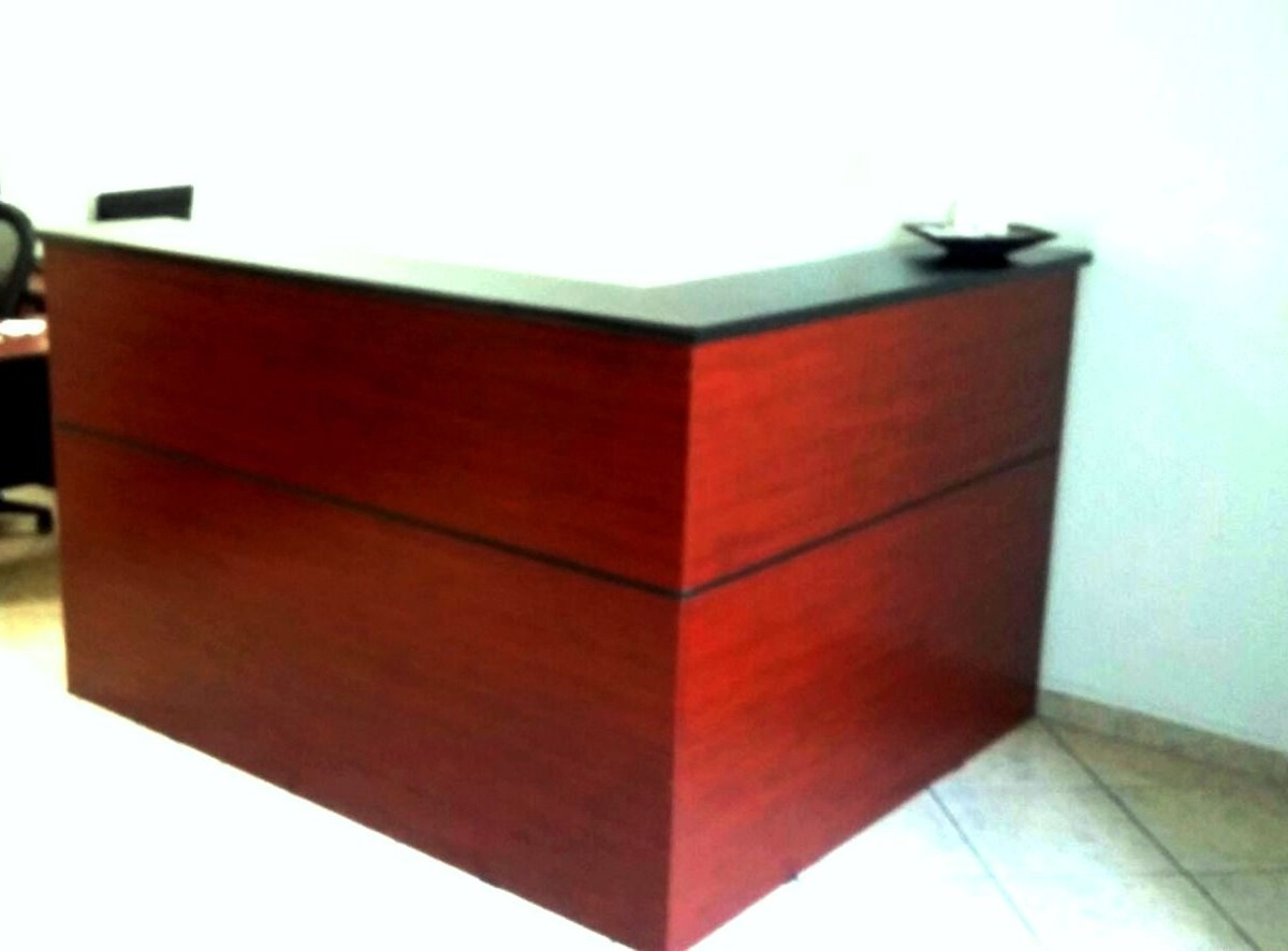 Mesa De Recepcion 3ldq Mueble Recepcion 1 80×1 60 L Escritorio Call Center Mesa