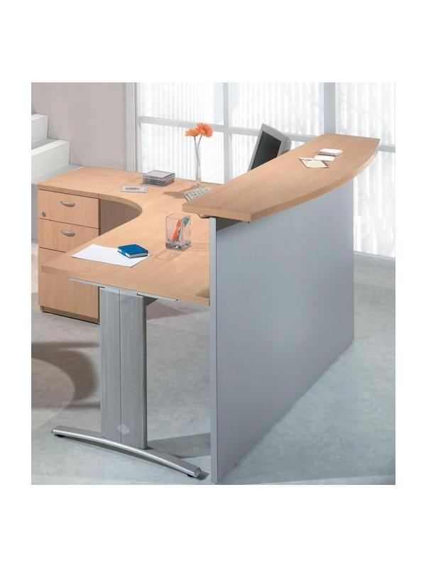 Mesa De Recepcion O2d5 Recepciones Mostradores Salas De Espera Recepcià N De Oficina Muebles