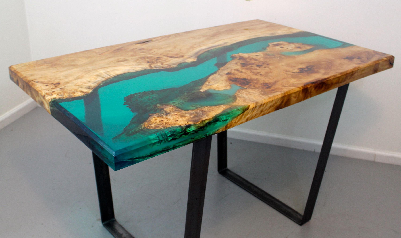 Mesa De Resina 8ydm Wood Table Mesa De Centro Madeira Mesa Resina E Mesa De