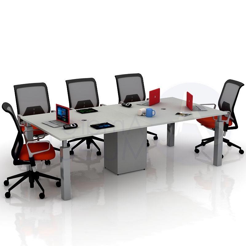 Mesa De Reuniones Mndw Mesa De Reuniones 240 X 120 Puesto De Trabajo Capacitacià N