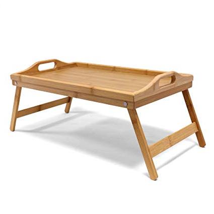 Mesa Desayuno Cama Drdp Jonas Bandeja Desayuno Cama Ida Bandeja Para Er Madera Bambú Patas Plegables Rectangular Mesa Auxiliar Plegable Ideal Para Relajarte En Tu