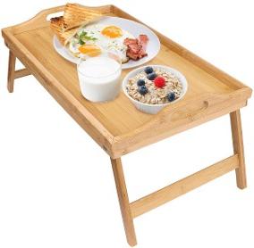 Mesa Desayuno Cama Zwdg Mesa Plegable Para Desayuno En Cama Laptop Servicio Greenco