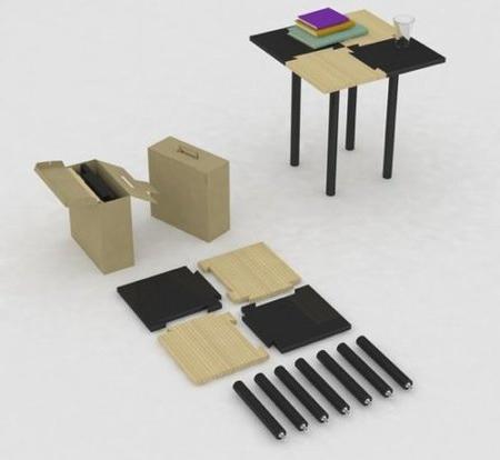 Mesa Desmontable T8dj Table In Box Mesa Desmontable