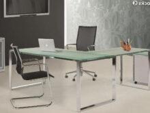 Mesa Despacho Cristal Fmdf Mesa Oficina Cristal Dim 160x80 Cm