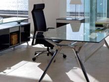 Mesa Despacho Cristal J7do Muebles Oficina Cristal