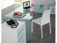 Mesa Despacho Cristal Tqd3 Mesa Escritorio Cristal Curvado Integral