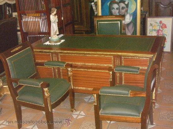 Mesa Despacho Segunda Mano Mndw Despacho Pleto Mesa Y Tres Sillones Pieza Prar Artà Culos