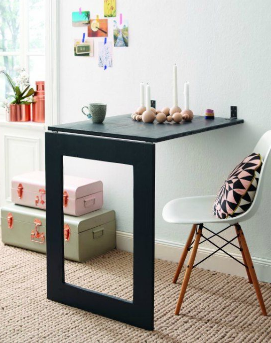Mesa Desplegable Dddy Diy Una Prà Ctica Y Decorativa Mesa Plegable Ideas Pinterest