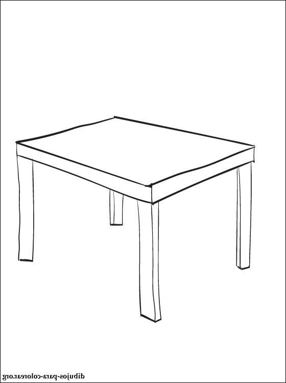 Mesa Dibujo Bqdd Dibujo De Mesa Para Imprimir Dibujos Para Colorear