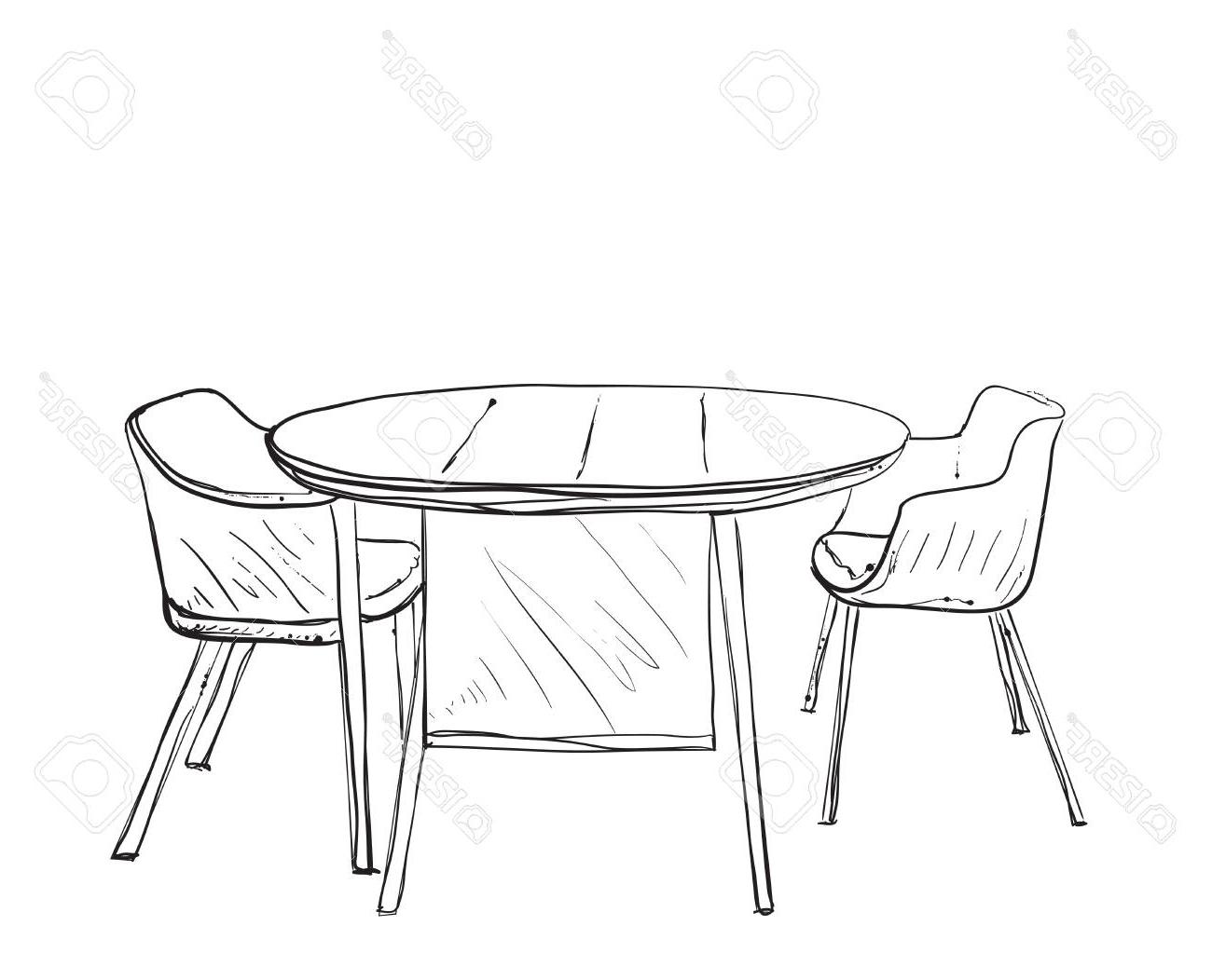 Mesa Dibujo Gdd0 Muebles En Cafà Del Verano Silla Y Mesa De Dibujo Ilustraciones