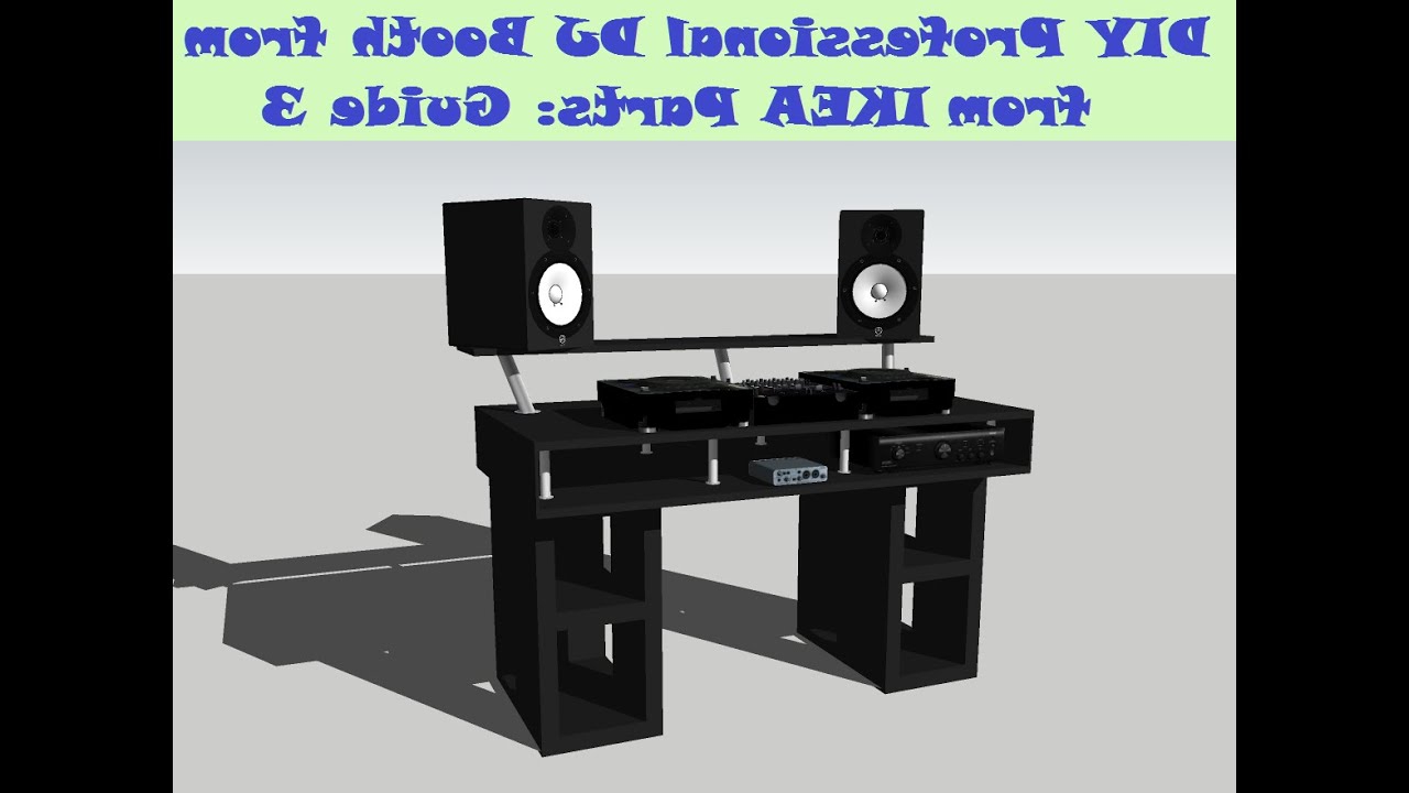 Mesa Dj Ikea 87dx Guide Diy Dj Booth From Ikea Parts Build 3 Youtube