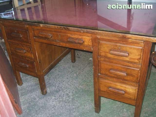 Mesa Escritorio Antigua Gdd0 Mil Anuncios Oferta Antigua Mesa De Despacho