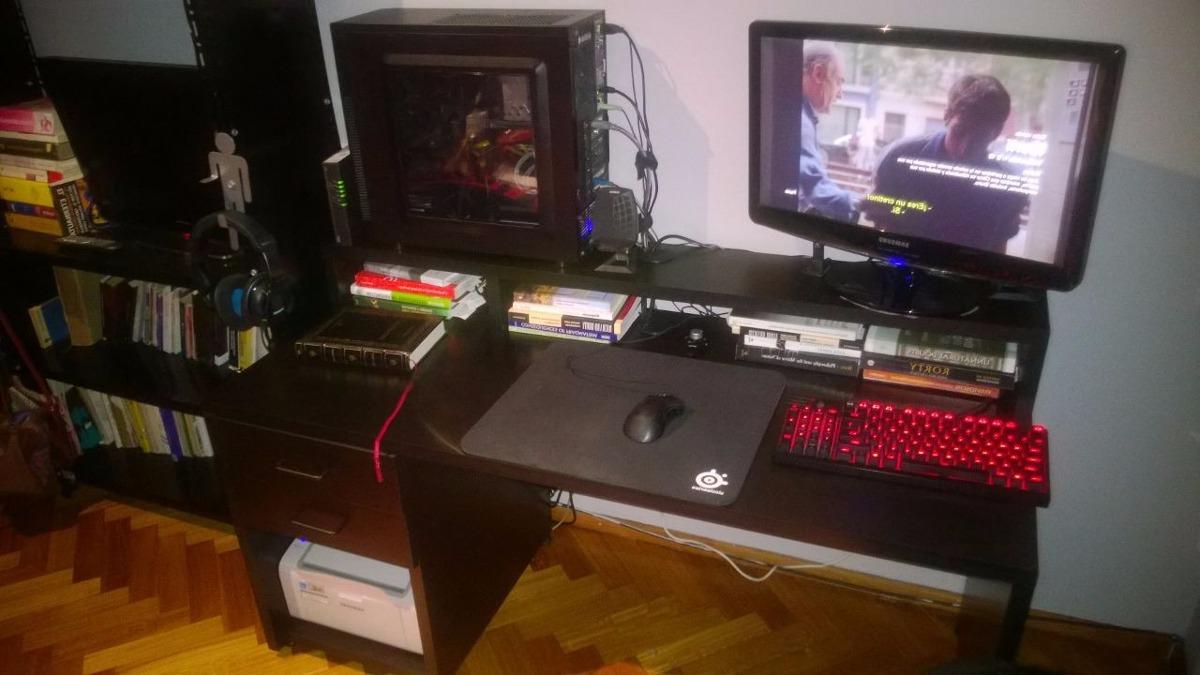Mesa Escritorio Gamer Nkde Escritorio Gamer Mueble A Medida Mesa Pc organizador 7 999 00 En