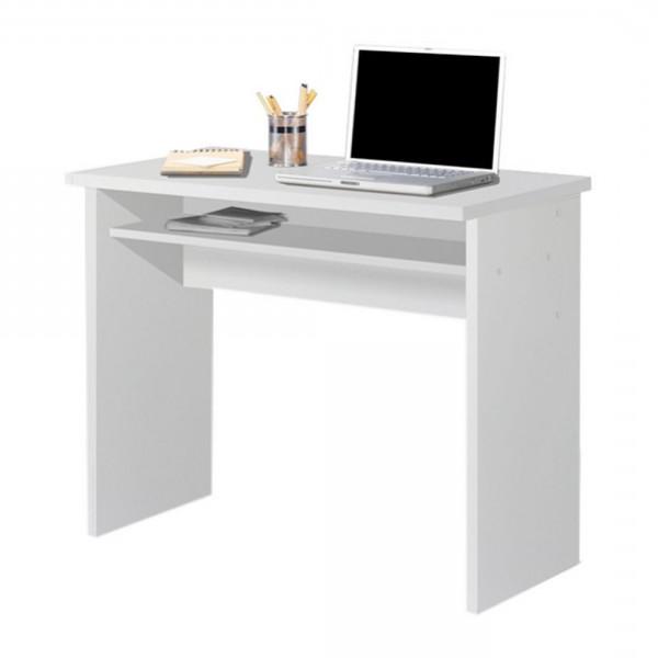 Mesa Escritorio Gdd0 Mesa Escritorio Mesa Estudio Con Bandeja Color Blanco Medidas 90