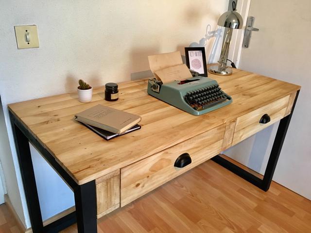 Mesa Escritorio H9d9 Escritorio Mesa Industrial Chu De Segunda Mano Por 310 En