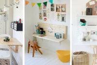 Mesa Escritorio Infantil 87dx Escritorios Abatibles Para Ganar Espacio En El Dormitorio Infantil