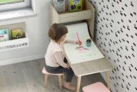 Mesa Escritorio Infantil H9d9 Mesa Escritorio Infantil Con Estanterà A Arco Iris