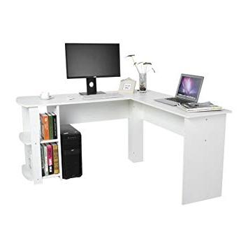 Mesa Escritorio Qwdq Yosoo forma L Mesa Escritorio De Putadora Pc ordenador