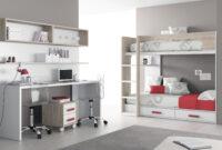Mesa Estudio Juvenil Bqdd Dormitorios A Medida Habitacià N Juvenil Con Mesa Estudio Doble Y