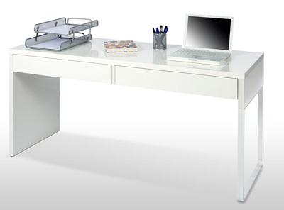 Mesa Estudio Zwd9 Mesa ordenador Reversible Blanca