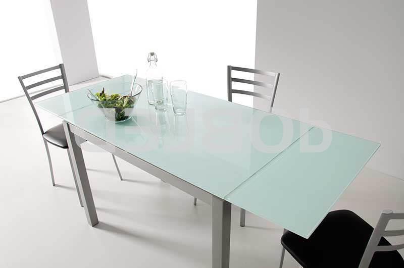 Mesa Extensible Cristal 0gdr Mesa De Cocina Karina Extensible De Cristal 100 X 60 Velasco Mesas
