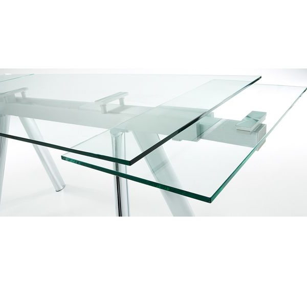 Mesa Extensible Cristal Dwdk Tienda Decoracià N Muebles De Salà N Edor Mesas De Cocina Y
