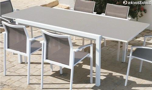 Mesa Extensible Jardin 3id6 Mesa Extensible De Terraza Y Jardin Aluminio Blanco Moka Laos 150