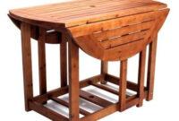 Mesa Exterior Plegable Gdd0 Muebles De Jardà N De Madera Teca Mesa Plegable Mas 4 Sillas