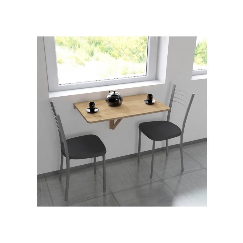 Mesa Extraible Cocina 9fdy Mesa Extraà Ble Madera Maciza Para Colgar En Color Nogal Medidas 80