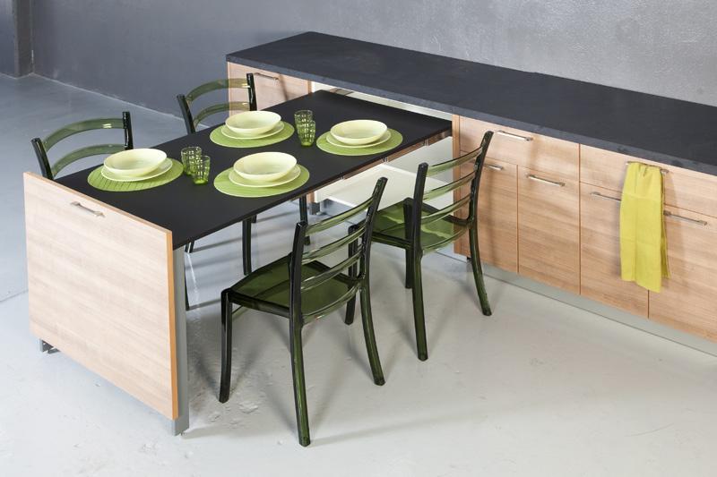 Mesa Extraible Cocina Etdg soluciones Prà Cticas Para La Cocina Mesas Ruiz Verde