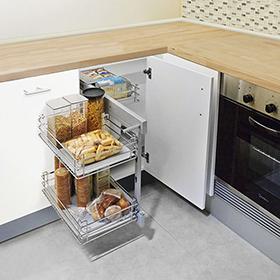 Mesa Extraible Cocina Gdd0 Cajones Y Accesorios Delinia Leroy Merlin