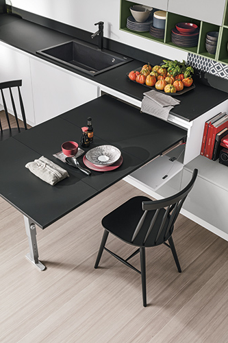 Mesa Extraible Cocina S5d8 Infinity