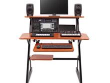 Mesa Home Studio 9fdy 4 Tier Home Studio Desk by Gear4music 6u at Gear4music