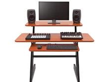 Mesa Home Studio Bqdd 3 Tier Home Studio Desk by Gear4music B Stock at Gear4music