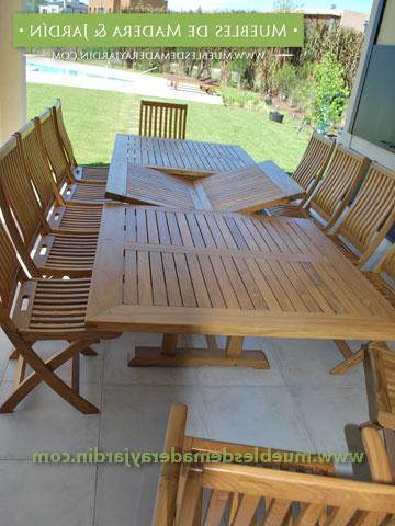 Mesa Madera Exterior Dddy Mesa Rectangular Extensible Para Exterior El Blog De Muebles De