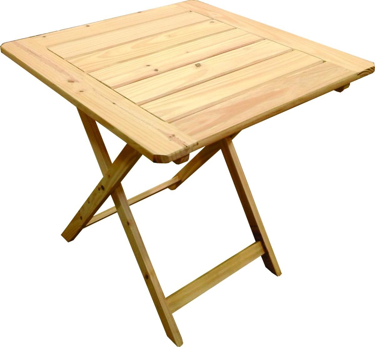 Mesa Madera Plegable Dddy Mesa Plegable De Madera 75×75 Bar Patio Jardin Terraza Sum 890