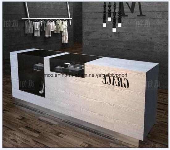 Mesa Mostrador J7do Diseà O Moderno De Color Blanco De Mesa Mostrador De Recepcià N Mostradores De Recepcià N De Caffe Shop