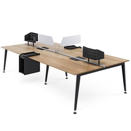 Mesa Oficina 3ldq Muebles De Oficina Mobiliario De Oficina Oficinas Montiel