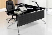 Mesa Oficina 8ydm Mesa Oficina Cristal Negro 180×85 Cms De Sdm Gort 180d