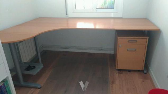 Mesa Oficina 9ddf Mesa Oficina Con Cajonera Y soporte ordenador En Sant Feliu De