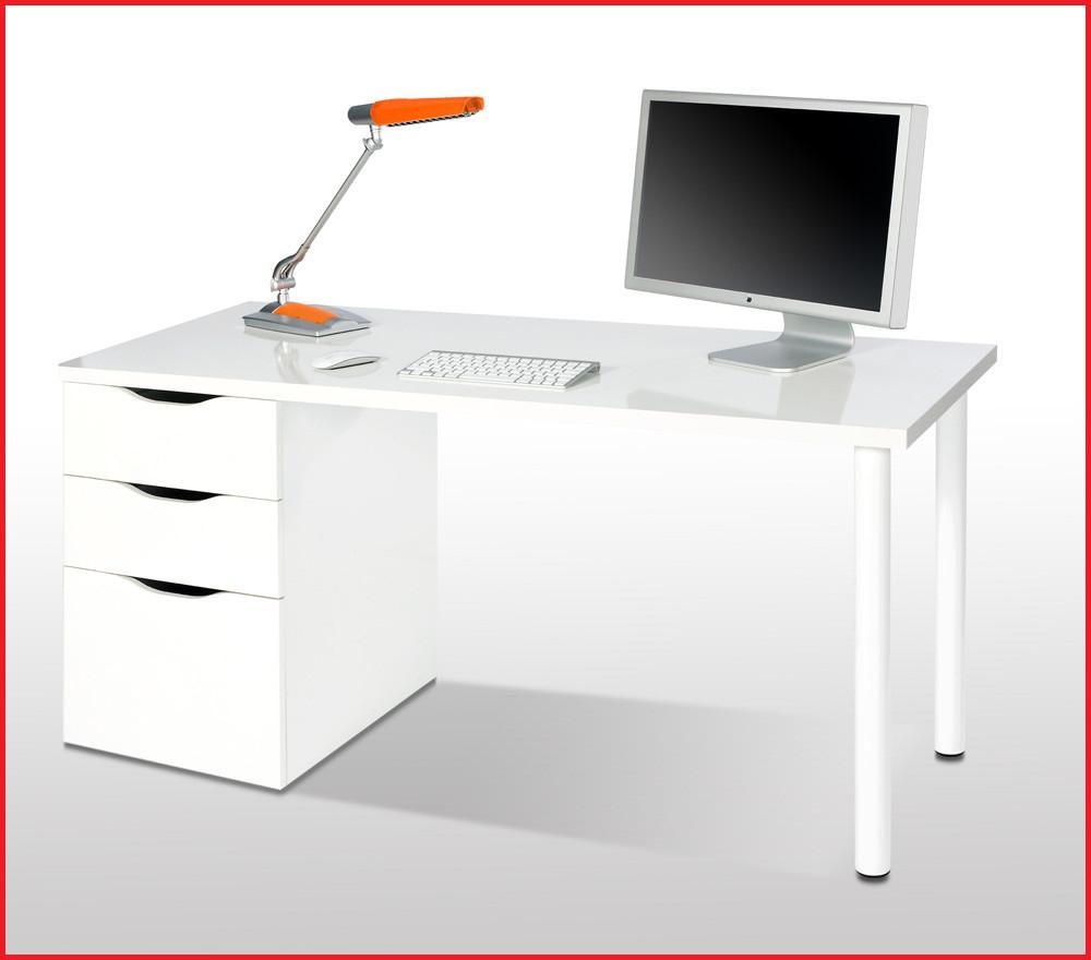 Mesa Oficina Barata Ipdd Mesa Oficina Barata Mesa ordenador Blanco Brillo Reversible